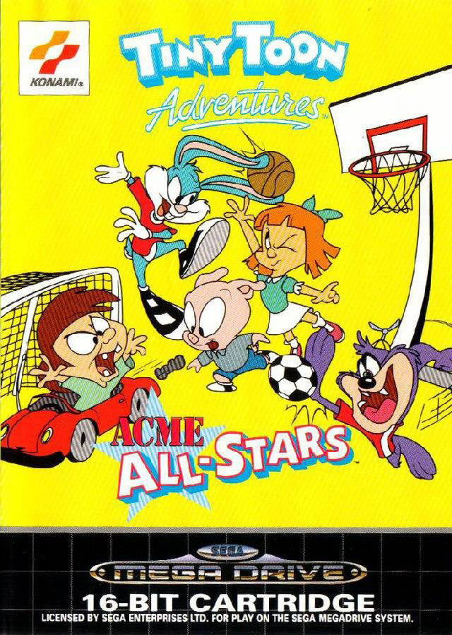 Tiny Toon adventures: ACME all-stars Box Art