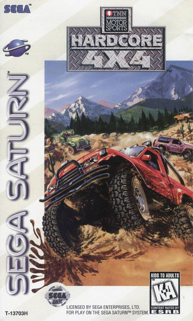 TNN Motor Sports Hardcore 4X4 Box Art
