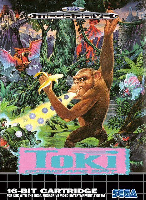 Toki: Going Ape Spit Box Art