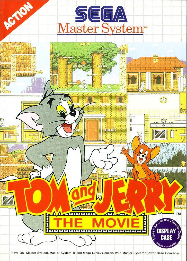 Tom and Jerry - The Movie Box Art