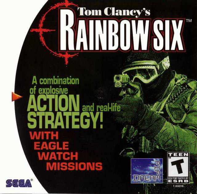 Tom Clancy's Rainbow Six Box Art