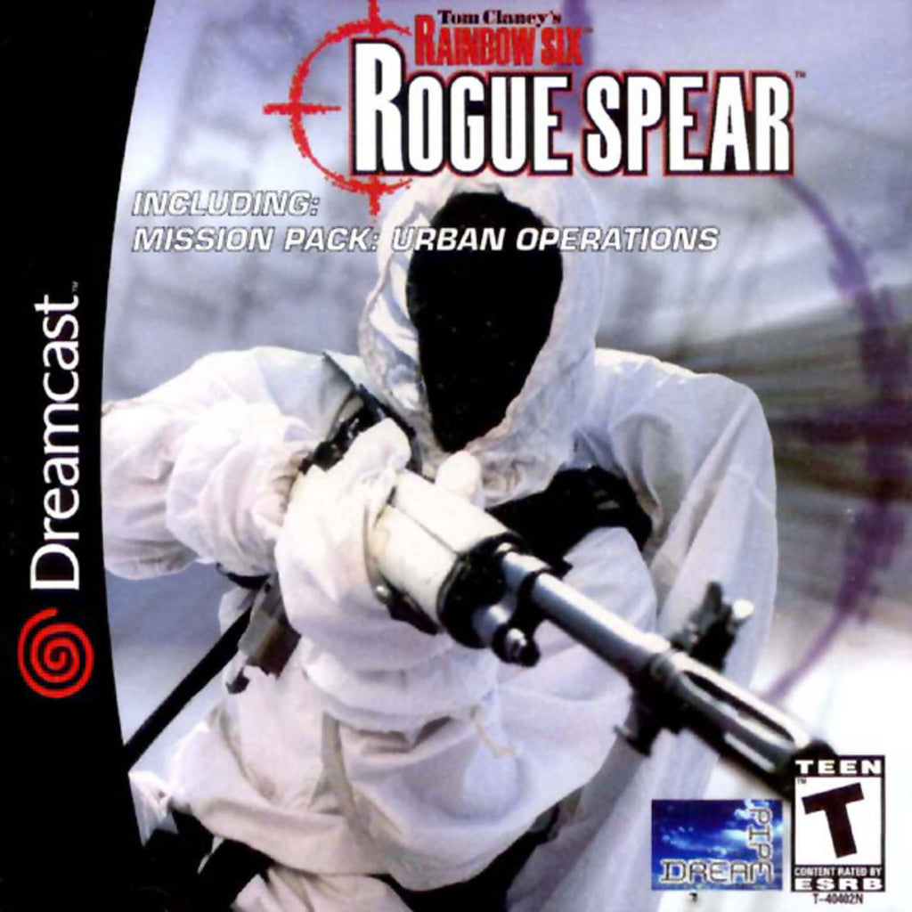 Tom Clancy's Rainbow Six: Rogue Spear Box Art