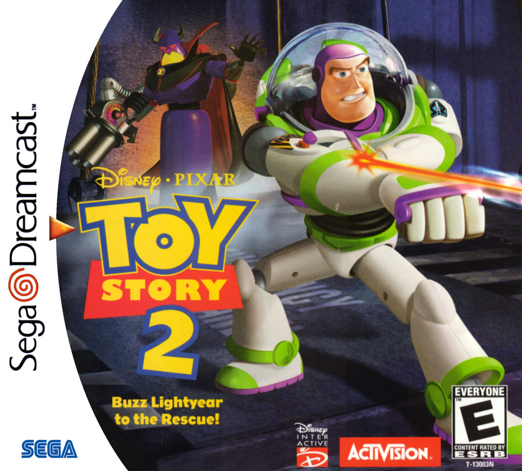 Toy Story 2: Buzz Lightyear to the Rescue! Box Art