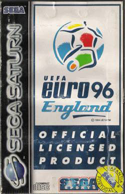 UEFA Euro 96 England Box Art