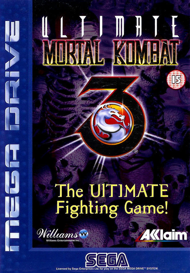 Ultimate Mortal Kombat 3 Box Art