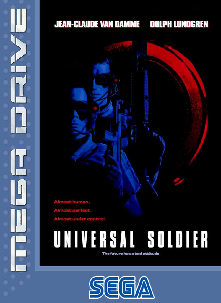 Universal Soldier Box Art