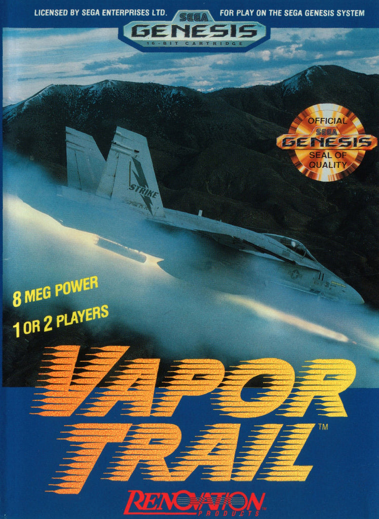 Vapor Trail Box Art