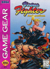 Virtua Fighter Animation Box Art