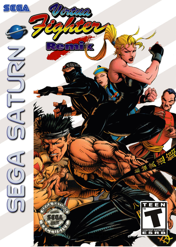 Virtua Fighter Remix Box Art