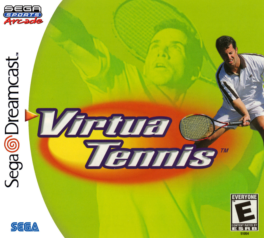 Virtua Tennis Box Art