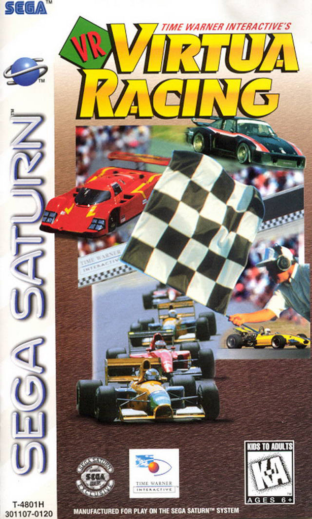 VR Virtua Racing Box Art