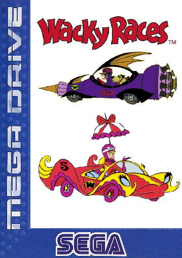 Wacky Races Box Art