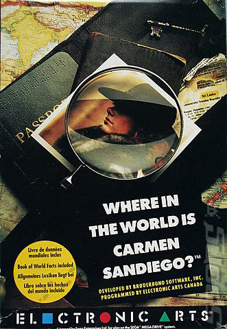 Where in the World Is Carmen Sandiego? Box Art