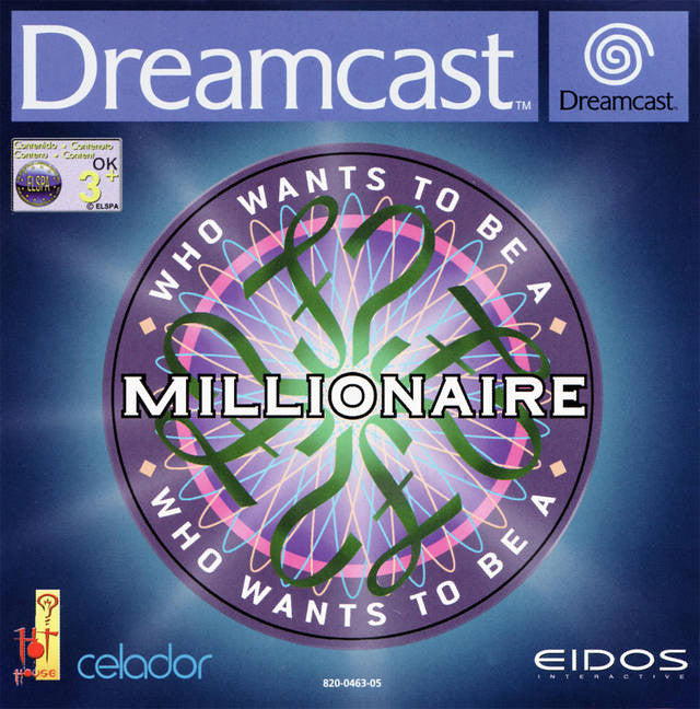 Who Wants to Be a Millionaire? Box Art