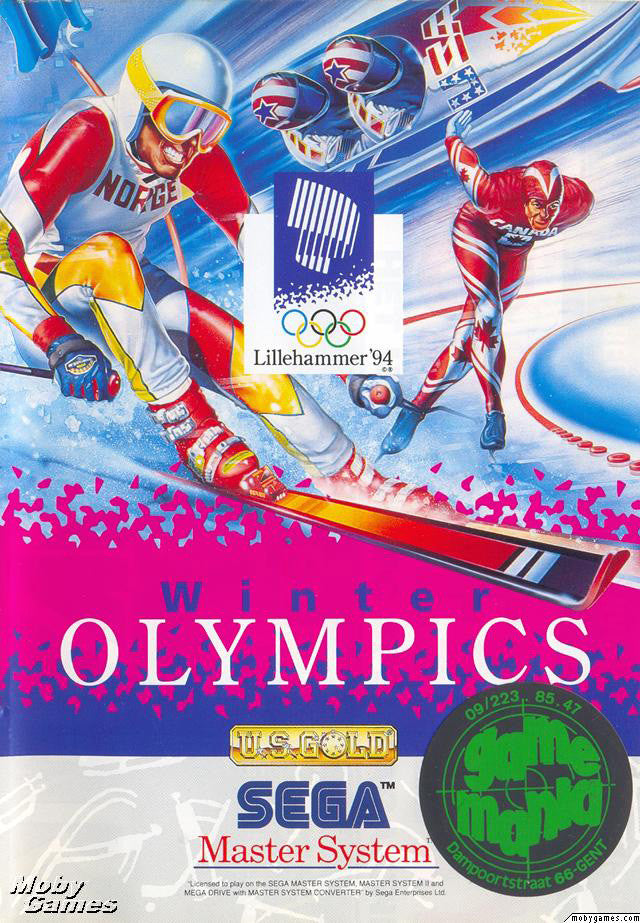 Winter Olympics: Lillehammer '94 Box Art