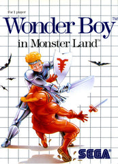Wonder Boy in Monster Land Box Art