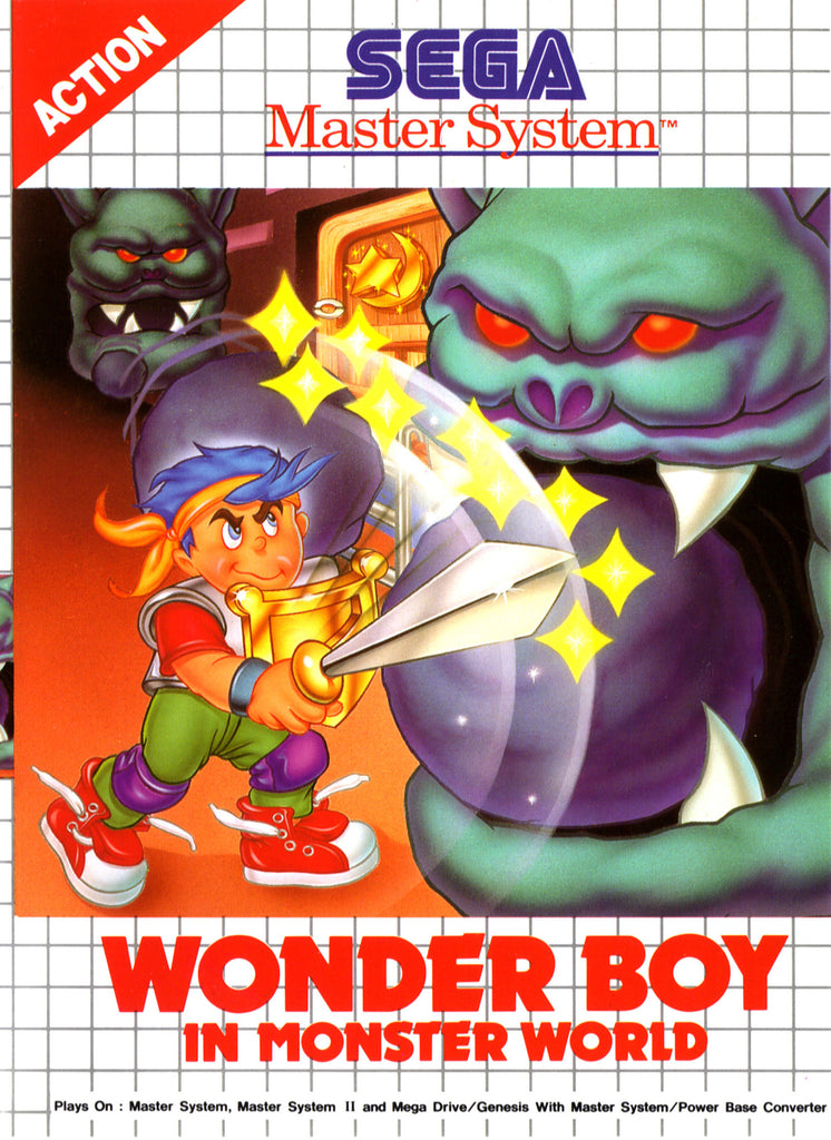 Wonder Boy in Monster World Box Art
