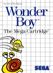 Wonder Boy Box Art