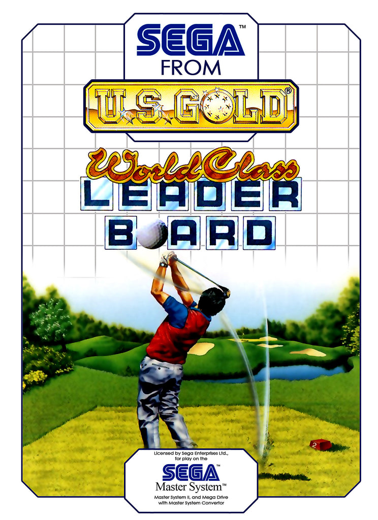 World Class Leader Board Golf Box Art