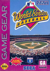 World Series Baseball Box Art