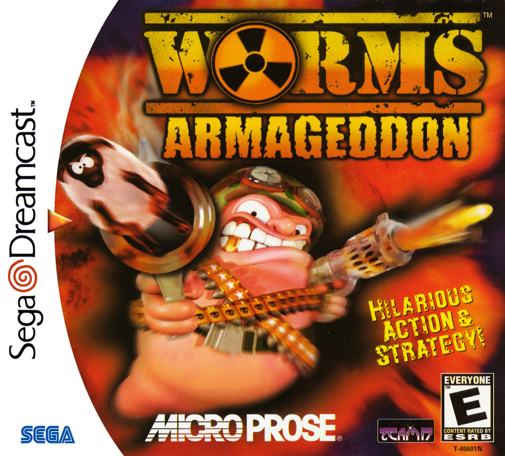 Worms Armageddon Box Art