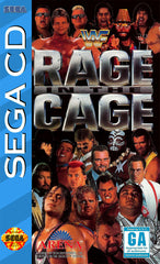 WWF Rage in the Cage Box Art