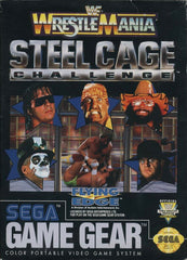 WWF Wrestlemania: Steel Cage Challenge Box Art