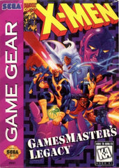 X-Men: Gamesmaster's Legacy Box Art
