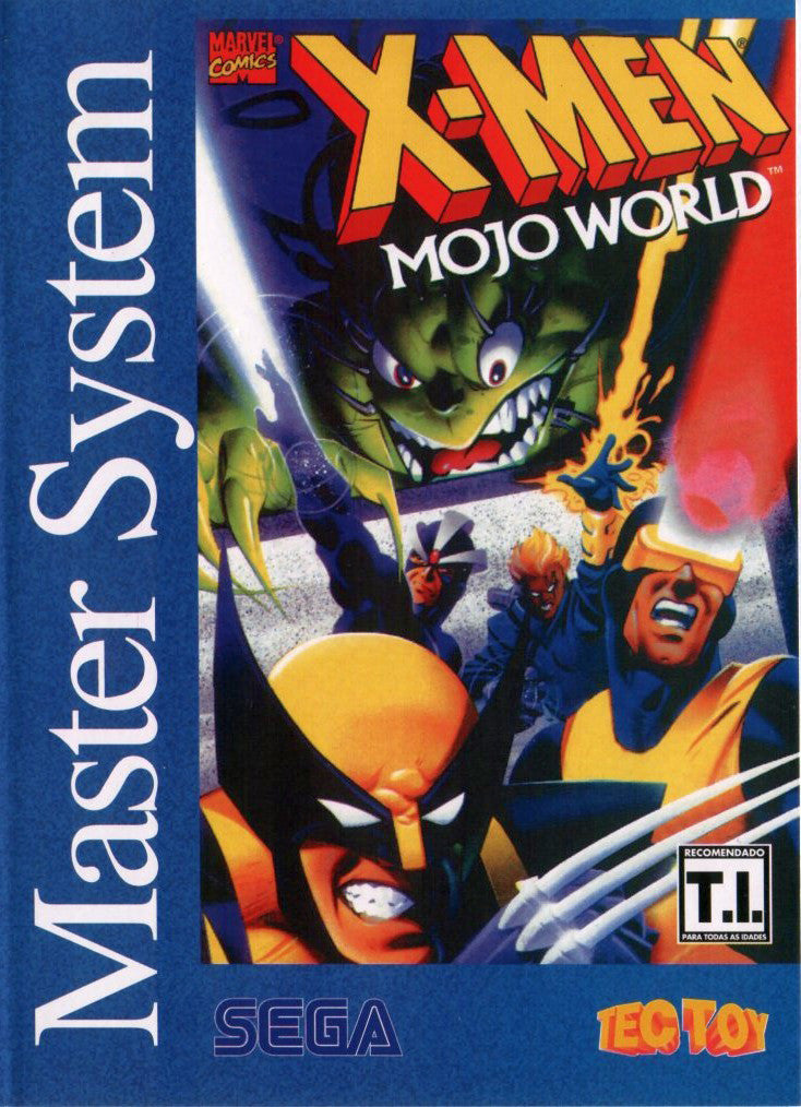 X-Men: Mojo World Box Art