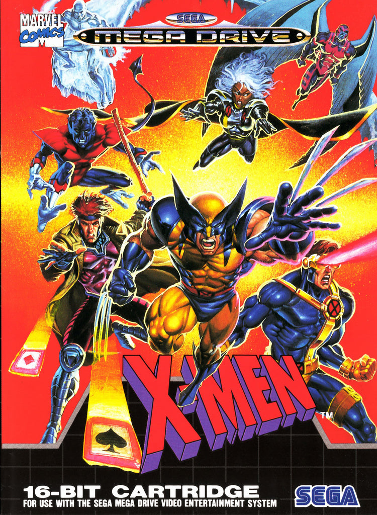 XMen Box Art
