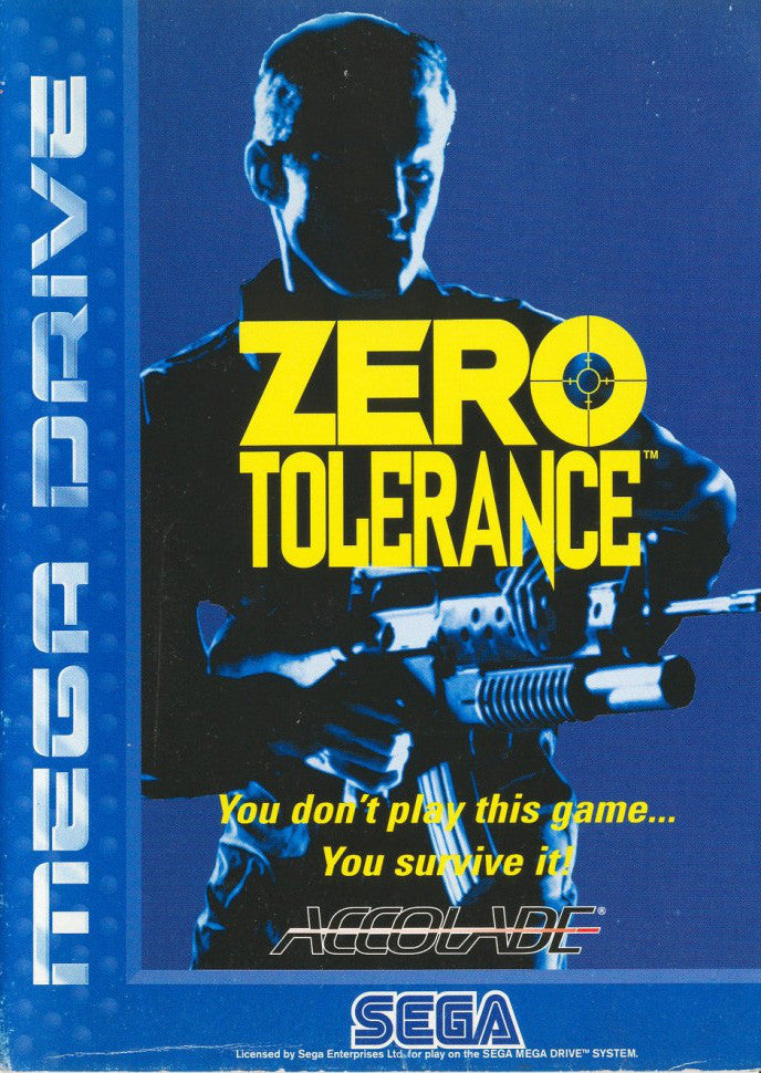 Zero Tolerance Box Art
