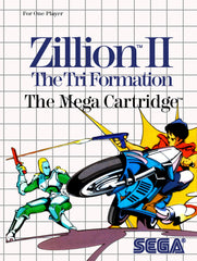 Zillion II: The Tri Formation Box Art