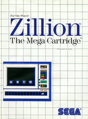 Zillion Box Art