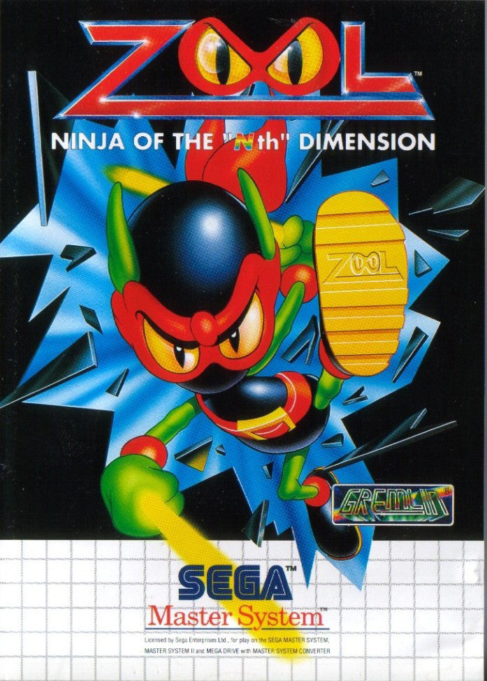 Zool: Ninja of the 'Nth' Dimension Box Art