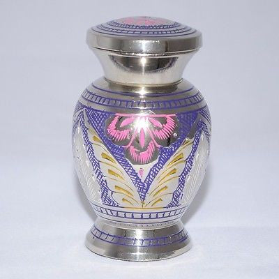 Arch Engraved Keepsake Cremation Urn inc velvet box