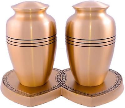 Gold Ring Companion Adult Cremation Urn