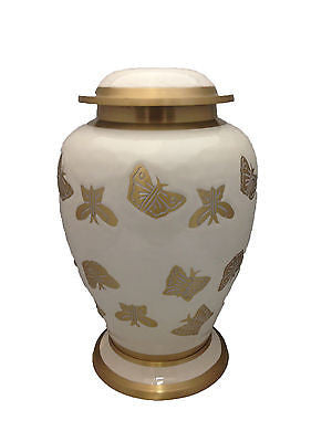 Butterfly Adult Cremation Urn