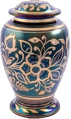 Rainbow Floral Adult Cremation Urn