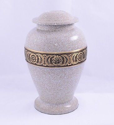 Marble Band Adult Cremation Urn