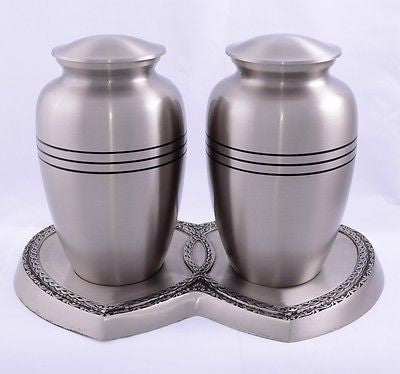 Silver Ring Companion Adult Cremation Urn
