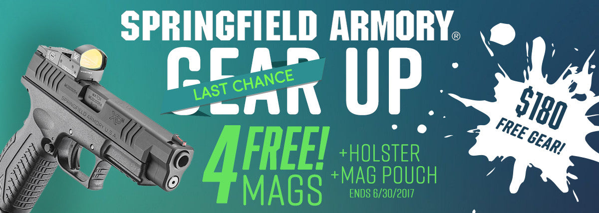 Springfield Armory gear up sale