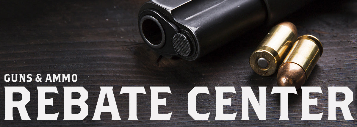 Huge discounts on firearms with these manufacturer rebates