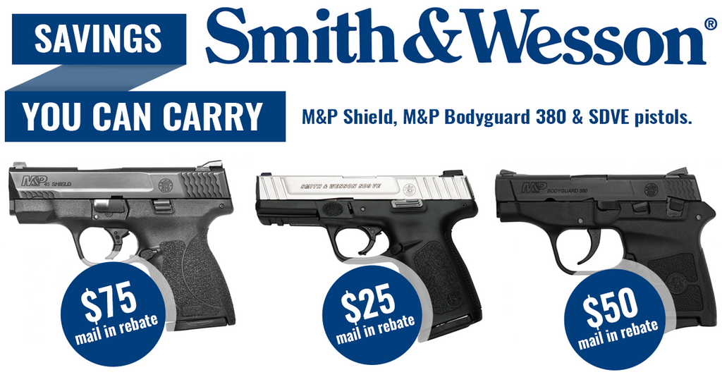 S&W smith and wesson rebate