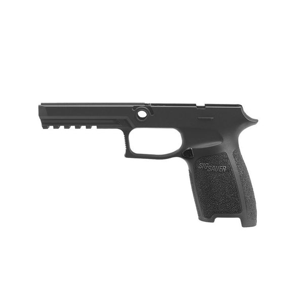 SIG SAUER P250/P320 Full Size 9/40/357 Large Black Grip Module Assembly (GRIP-MOD-F-943-LG-BLK)