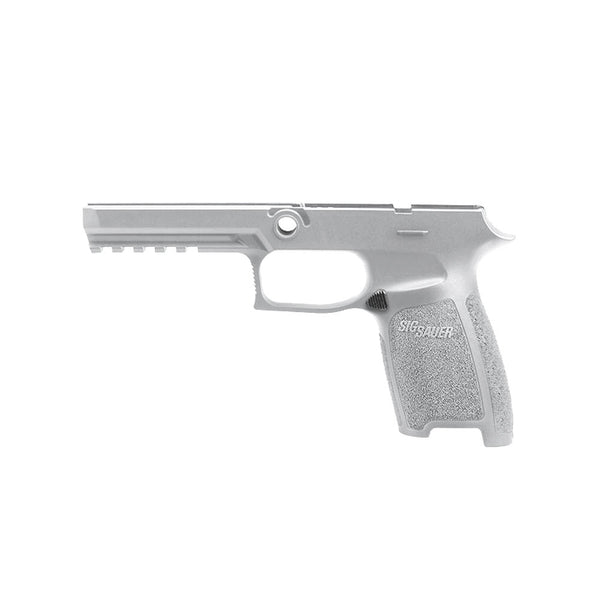 SIG SAUER P250/P320 Full Size 9/40/357 Medium White Grip Module Assembly (GRIP-MOD-F-943-M-WHT)