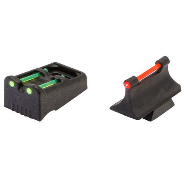 TRUGLO Remington 870, 1100, & 1187 Fiber Optic Shotgun or Rifle Green & Red, Front & Rear Sight (TG961R)