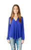 Lush Blouse in Royal - Shopatflirt  - 2