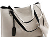 Reversible Tote in Black/Ivory - Shopatflirt  - 4