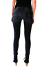 Skinny Denim Jean in Dark Wash - Shopatflirt  - 2