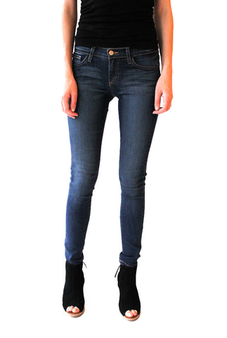 Soft Skinny Denim Jean in Dusty Wash - Shopatflirt  - 1